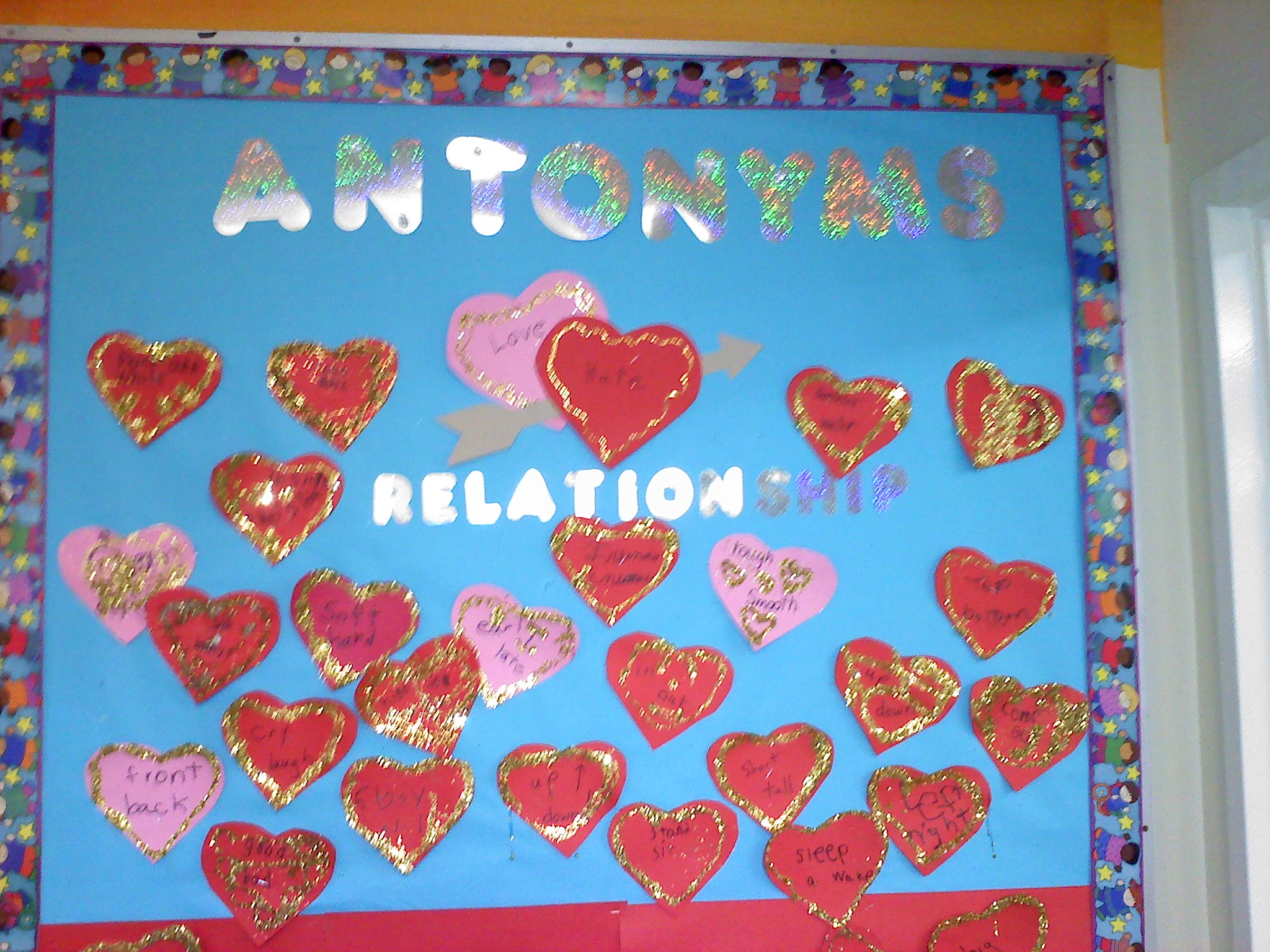 The Antonym board