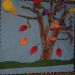 paper leaf Bulletin Board