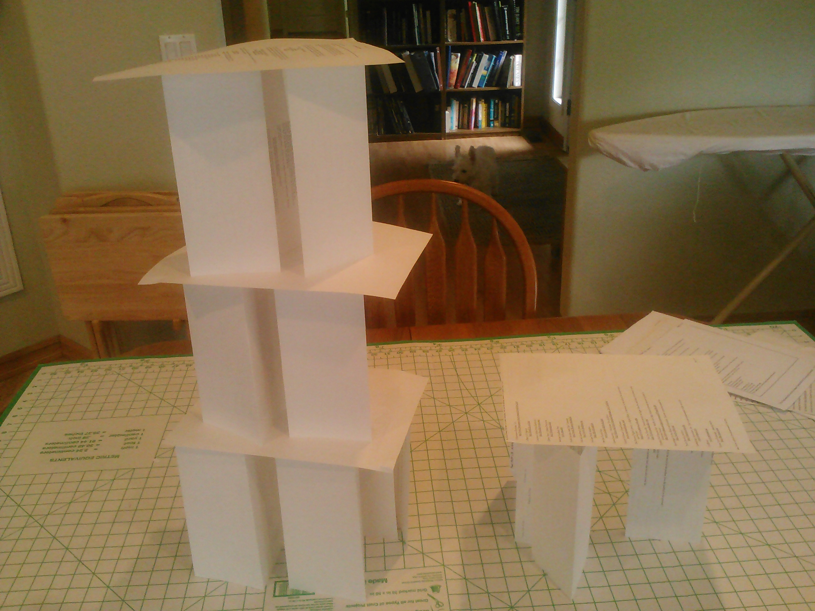 Build a Paper Tower; A Cooperative Challenge – In Spontaneous Speech